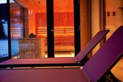Entspannungsmöglichkeit neben der Sauna im Hotel MorgenZeit (c) Youngmedia