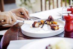 Essen auf höchstem Gourmetniveau (c) Johanna Gunnberg (Hotel Espléndido)