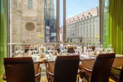 Eventlocation mit Aussicht auf den Dom (Hotel am Stephansplatz)