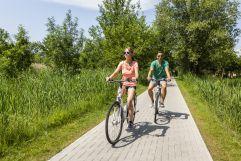 Fahrradfahren im VILA VITA Pannonia (c)Kirchgasser Photography (VILA VITA Pannonia Pamhagen)