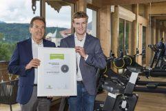 Fitness.at Award (c) Hubert Bernard (Peternhof)