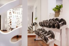 Fitnessraum (c) Johanna Gunnberg (Hotel Espléndido)