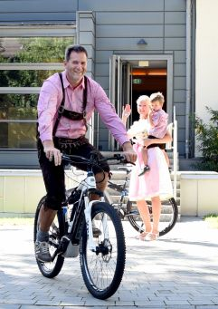 Freizeittour mit dem E-Bike (Hotel Asam)