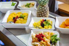 Frisches Obst am Frühstücksbuffet (Gut Edermann)