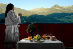 Frühstück mit Panoramablick (IMPULS HOTEL TIROL)