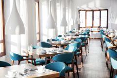 Frühstückstische (Hotel Espléndido)