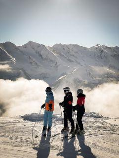 Ganzjahresskigebiet am Hintertuxer Gletscher (Alpinhotel Berghaus)