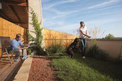 Gartenanteil für Hunde (c) Wiesenhofer (Hotel Larimar)