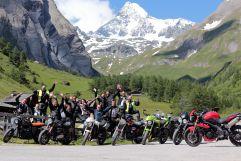 Geführte Motorradtour in der Wildkogel Arena