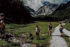 Geführte Wanderungen mit Hund (Wanderhotel Vinschgerhof)
