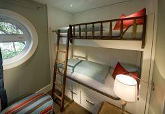 Gemütliche Schlafkoje im Bootshaus (KOLLERs Hotel)
