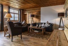 gemütliche Sitzecke im Berghaus Altes Schulhaus (c) Patrick Säly (Hotel Montafoner Hof)
