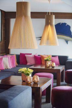 Gemütliche Sitzmöglichkeiten in der Lounge (Portixol)