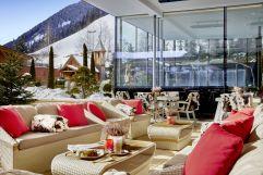 gemütlicher Wintergarten (Hotel Quelle)