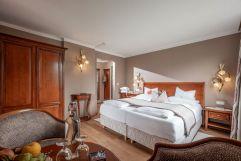 Gemütliches Doppelbettzimmer (Hotel Waldfriede)