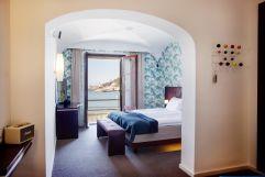 Geräumiges Hotelzimmer mit Blick aufs Meer (c) Johanna Gunnberg (Hotel Espléndido)