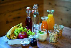 Gesunde Frühstückspezialitäten (c) Fotostudio Wälder (Alpzitt Chalets)