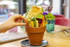 Gesunde Gemüse-Sticks zum Teilen (Hotel Blü Gastein)