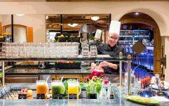 gesundes Buffet (Hotel Quelle)
