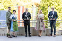 Gewinner der Tourismuspanther Preisverleihung (c) Jean Van Luelik Photographer (Ratscher Landhaus)