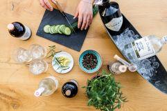 Gin Genuss in der Barothek (c) Thomas Haberland (Hotel Traumschmiede und Gasthof zur alten Schmiede)