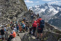 Gipfelerlebnis beim Alpine PeaceCrossing im Sommer (c) Moritz Nachtschafft (Tourismusverband Krimml)