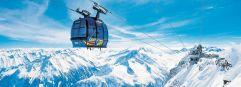 Gletscher Bus im Urlaubsgebiet Tux Finkenberg