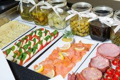 Große Auswahl beim Frühstücksbuffet (Hotel KAISERHOF Wien)