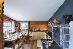 Große Küche im Almchalet (KOLLERs Hotel)