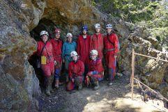 Gruppenfoto der Bergwerkstour (c) Philipp Santifaller (Tourismusverein Klausen)