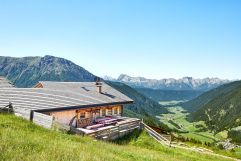 Hauseigene Almhütte (c) Michael Huber (Hotel Quelle Nature Spa Resort)