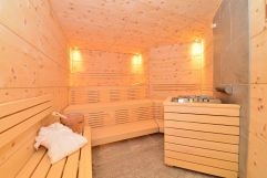 Hauseigene Finische Sauna (c) Sascha Duffn (Hotel Jagdhof)