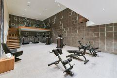 Hauseigener Fitnessraum (Trofana Royal)