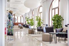 Heller Sitzbereich (c) Johanna Gunnberg (Hotel Espléndido)