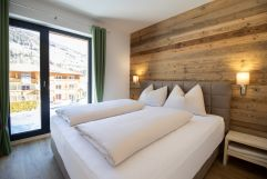 Helles Schlafzimmer (Alps Residence)