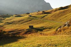 Herbstliche Berglandschaft (c) Bernd Fischer (Lech Zürs Tourismus)
