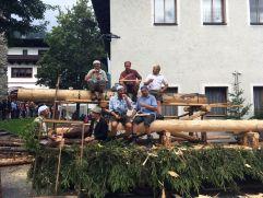 Holzknechte beim Hoizfest (Tourismusverband Rauris)