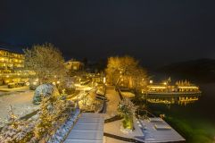 Hotel Garten des KOLLERs in der Nacht (c) Rupert Mühlbacher (Kollers)