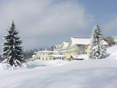 Hotelansicht im Winter (Angerhof)