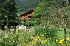 Hotelanssicht mit  Blumen bei sommerlichen Verhältnissen (c) Josef Kainrath (Hotel Felbermayer)