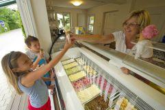 Hoteleigene Eisdiele mit köstlichem Eis (KOLLERs Hotel)