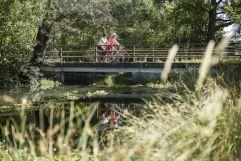 Idyllische Genuss-Rad-Touren am Innradweg (c) heikomandl.at (TVB Silberregion Karwendel)