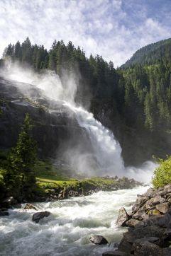 Imposantes Naturschauspiel am Krimmler Wasserfall (Tourismusverband Krimml)