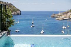 Infinity Pool mit Blick auf das blaue Meer (c) Johanna Gunnberg (Hotel Espléndido)