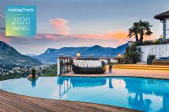 Infinitypool mit atemberaubenden Ausblick (c) Tiberio und Golserhof (Hotel Golserhof)