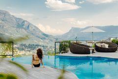 Infinitypool mit traumhaftem Bergblick (Hotel Golserhof)
