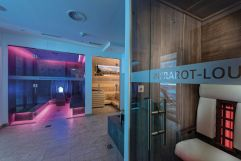 Infrarot-Lounge in der SpaMOUNT (Das SeeMOUNT)