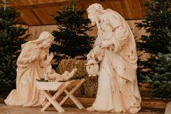 Jesus in der Krippe (c)Wildkogel-Arena Neukirchen & Bramberg