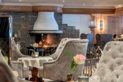 Kaminecke Hotelbar (c) Alexander Maria Lohmann (Alpen-Wellness Resort Hochfirst)