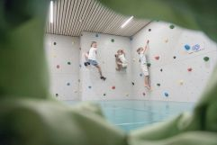 Kinderclub Kletterwand (Hotel Gorfion Familotel)